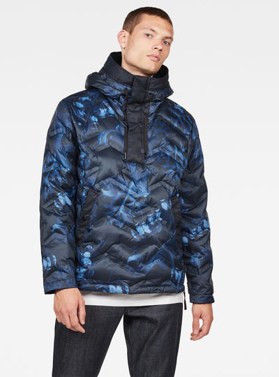 Anorak Attacc Hooded Down
