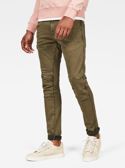 5620 3D Skinny Colored Jeans