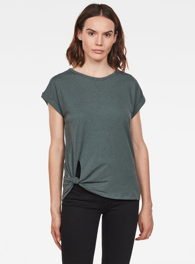 Caper Knotted Top