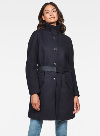 Empral Wool Trench