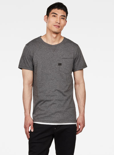 T-shirt Muon Pocket