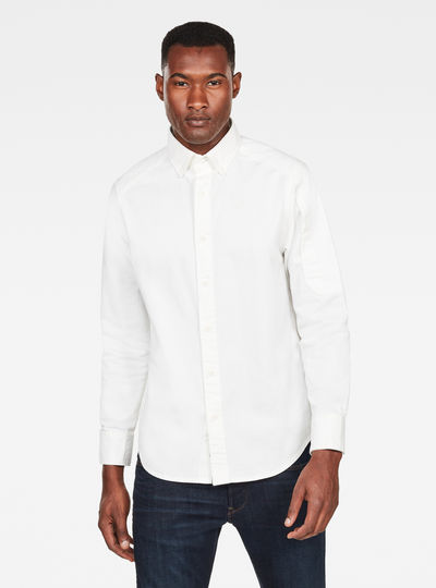 Stalt Button Down Pocket Straight Shirt