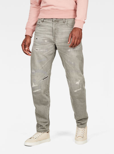 Jean Arc 3D Relaxed Tapered Earthtrace Colored