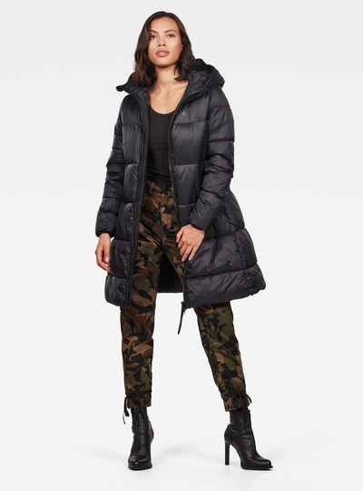 Veste Whistler Hooded Quilted A-line