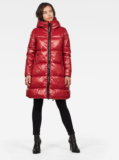 Chaqueta Whistler Hooded Quilted A-line