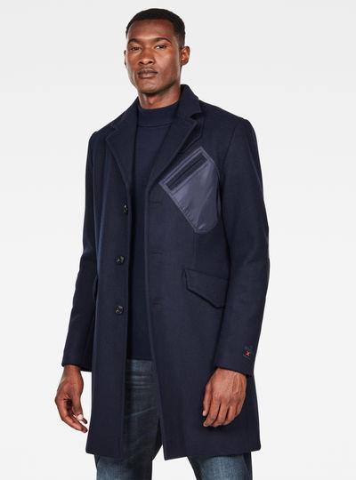 MAXRAW III Varve Wool Coat