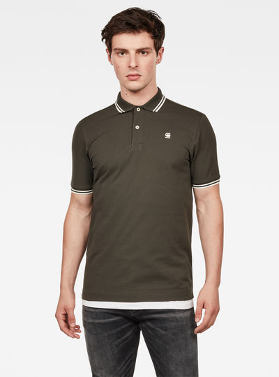 Dunda Slim Stripe Polo S/S