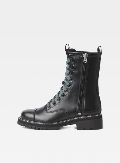 Minor Zip Boots