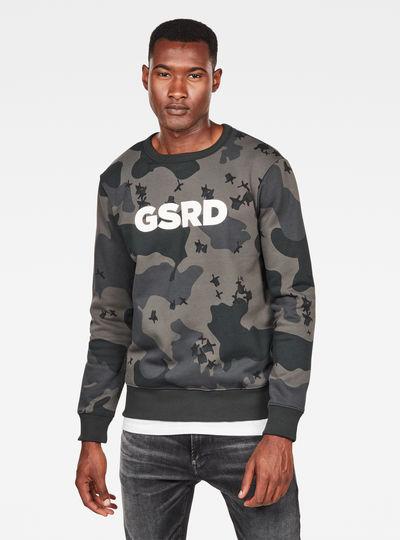 Ferru Camo Sweater