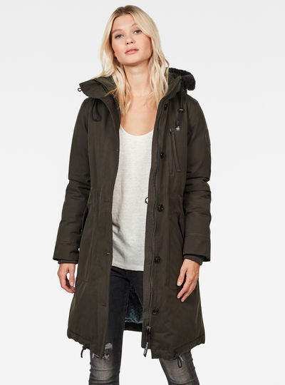 New Duty Padded Parka
