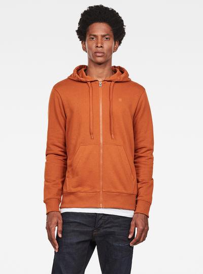 Graphic 8 Core Zip Thru Sweatshirt
