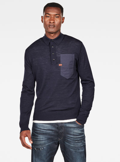 MAXRAW III Polo Knit