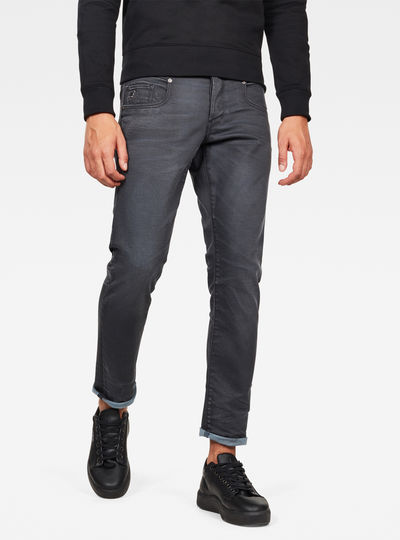 Jean Radar zip Straight Tapered