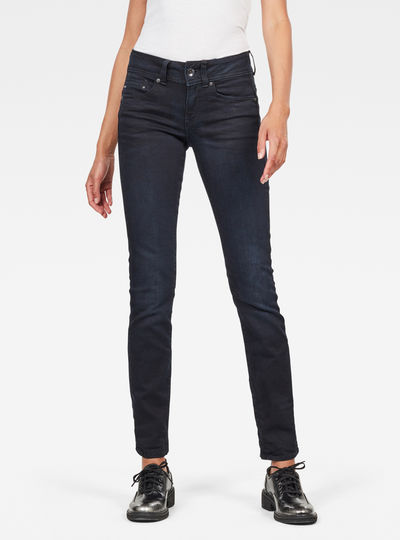 Midge Saddle Straight Jeans