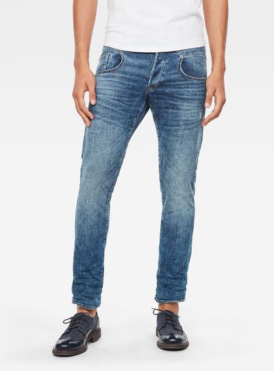 Radar Zip Straight Tapered Jeans