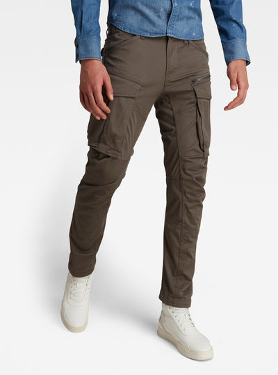 Rovic Zip 3D Straight Tapered Pant