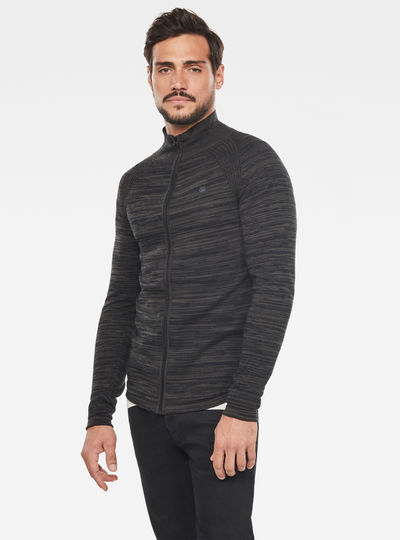 Zip Through Solli Knitted Pullover