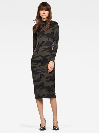 New Venetio Slim Funnel Dress