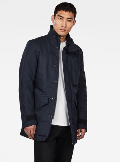 Scutar Utility Padded Trench Coat
