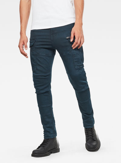 Pantalones Rovic Zip 3D Skinny