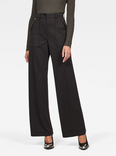Army High Wide Leg Pant