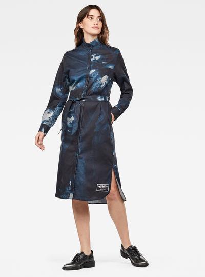Vestido Camisero Lanc Midi
