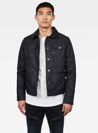 D-Staq Sherpa Slim Jacket