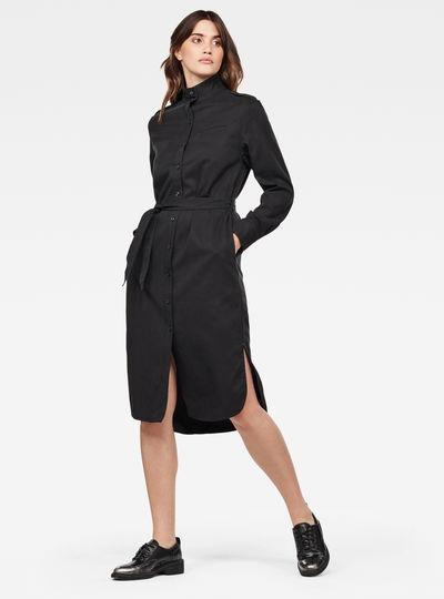 Lanc Midi Shirt Dress