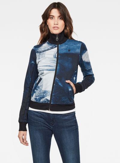 Rijks Lanc Slim Tracktop Sweater