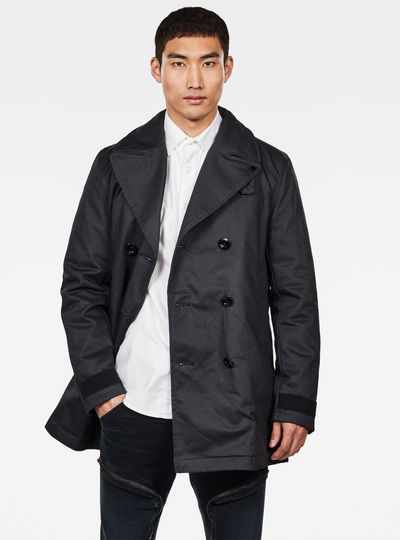Manteau denim