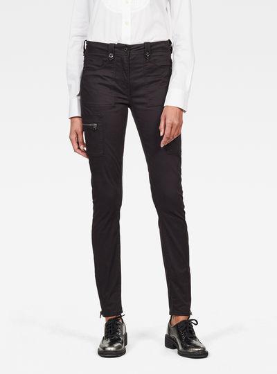 Pantalon Kerf Cargo High Skinny