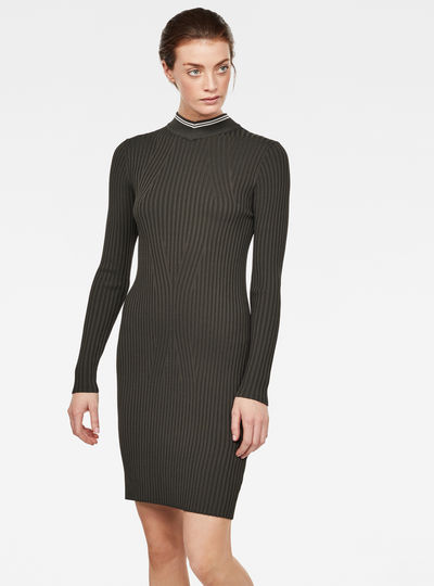 Lynn Mock Turtle Dress