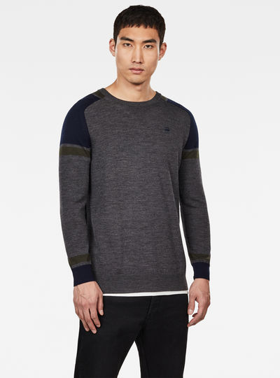 Core Block Knitted Sweater