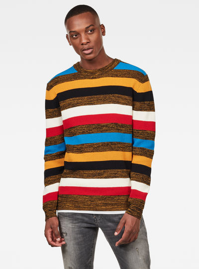 Mike Stripe Knitted Sweater
