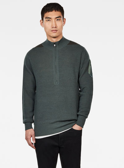 Stagion 1\2 Zip Knitted Sweater