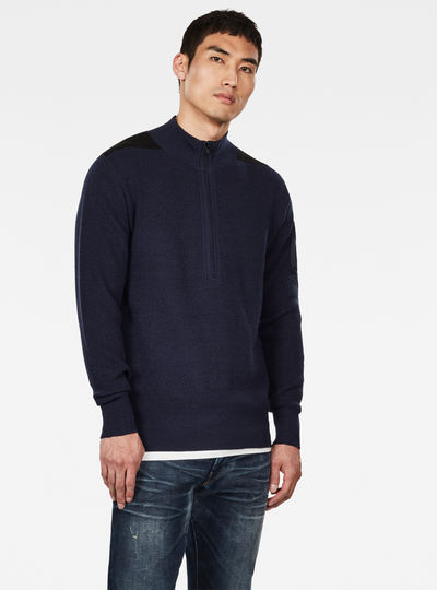 Stagion 1\2 Zip Knitted Pullover