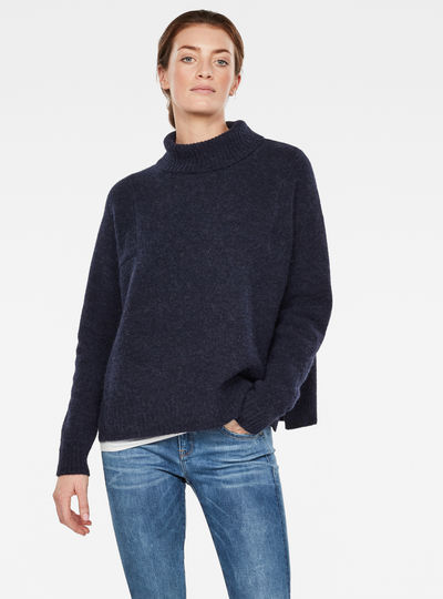 Terrapin Turtleneck Knitted Pullover