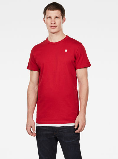 Straight Round Neck T-Shirt