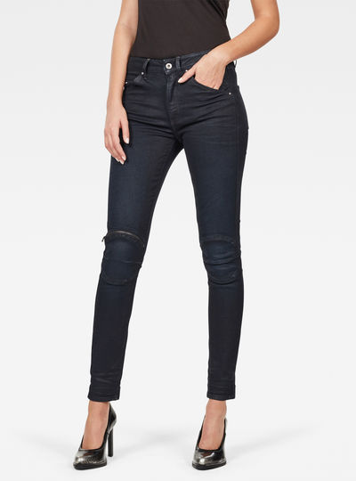 Jean 5622 Knee Zip High Skinny