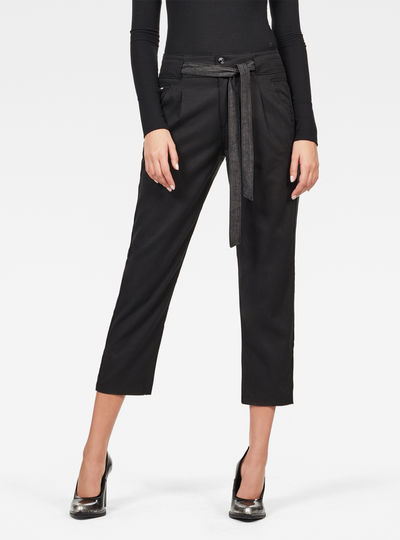 Chisel Mid Boyfriend Ankle Chino Pant
