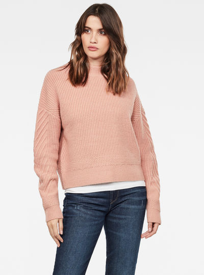 Weet Turtleneck Knitted Sweater