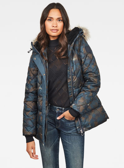 Whistler Faux Fur Down Tailored Jacke