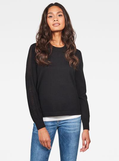Guzaki knitted Sweater