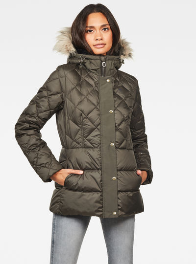 Whistler Faux Fur Down Tailored Jack