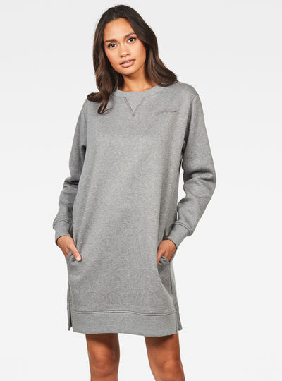 Reffit Boyfriend Sweat Long Dress