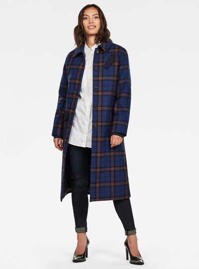 Belted Field Padded coat