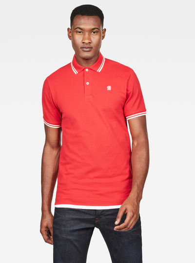 Dunda Slim Stripe Polo