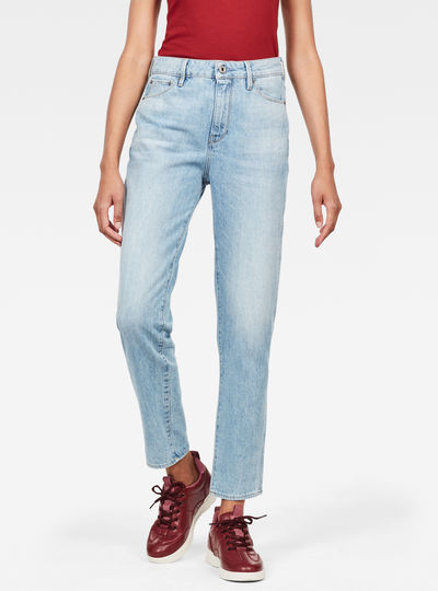 Jeans 3301 High Straight 90's Ankle
