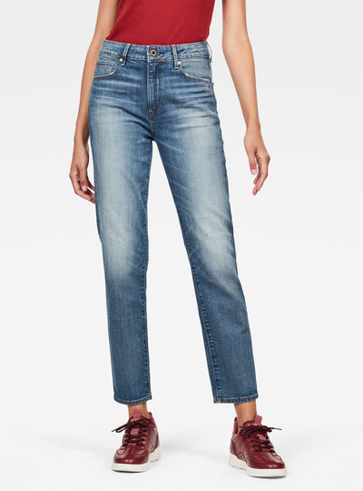 Jean 3301 High Straight 90's Ankle