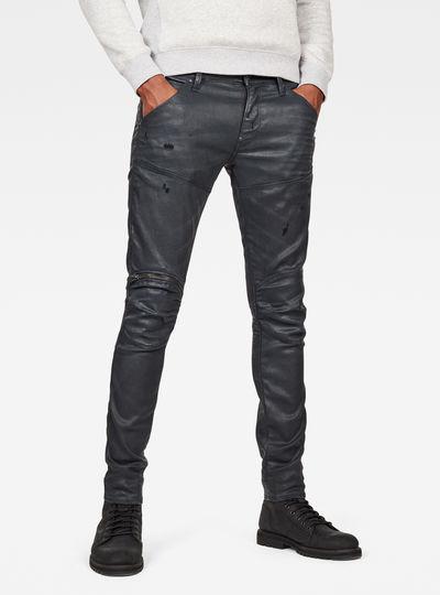 5620 3D Zip Knee Skinny Pant